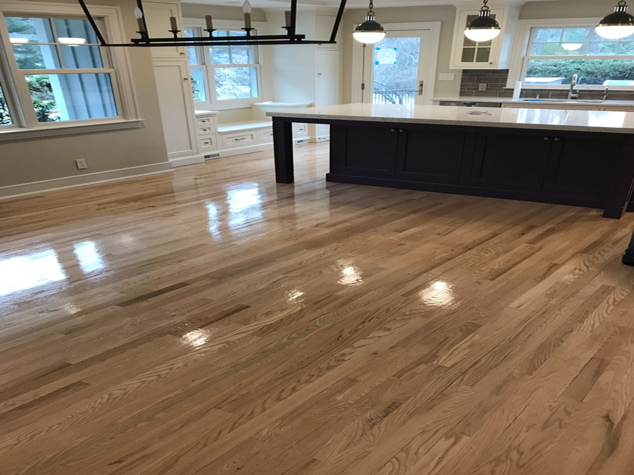 Red Oak Flooring Gray Stain Color Eds